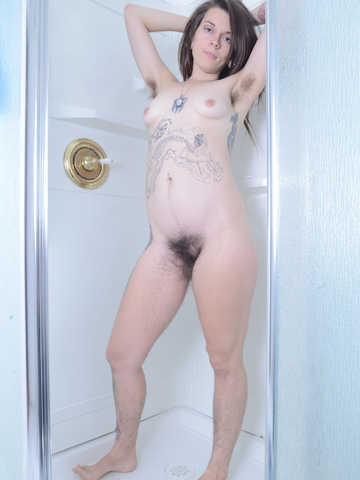 Valkyree Jaine in hairy fun